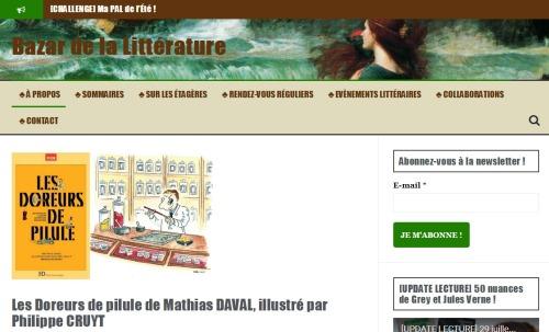 Bazar de la littérature (19/07/2016)