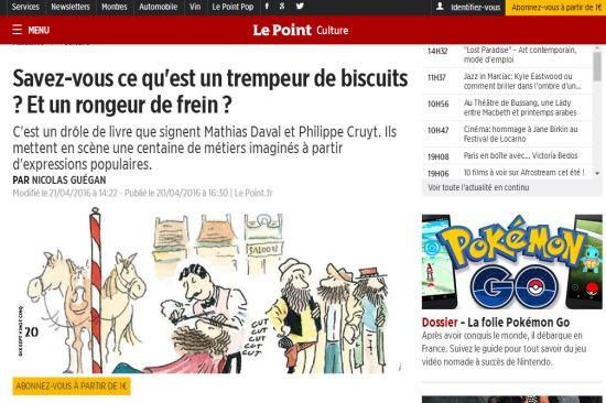 Le Point (20/04/2016)